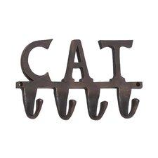 """Aluminum """"Cat"""" Wall Hook"""