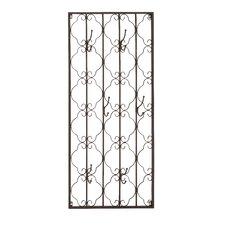 Elegant Metal Wall Hook Panel