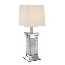 "Elegant 28"" H Table Lamp with Empire Shade"