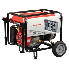 Portable 8,125 Watt Gasoline Generator with Wheel Kit