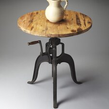 Metalworks Adjustable Height Dining Table