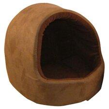 Hooded Pet Bed in Brown