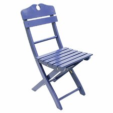 English Garden Folding Dining Side Chair