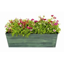 Galvanized Rectangular Window Box