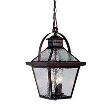 Bay Street 3 Light Outdoor Hanging Lantern