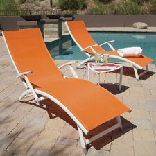 Sol Sling Folding Chaise Lounge