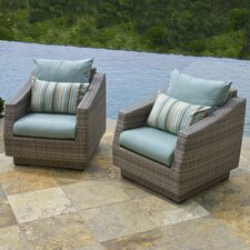 Cannes™ Club Chair with Cushions (Set of 2)