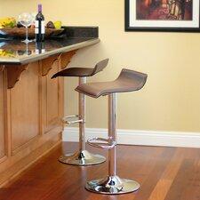 Klein Adjustable Height Swivel Bar Stool (Set of 2)