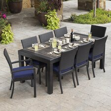 Deco 9 Piece Dining Set with Cushion