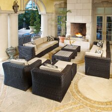 Resort 12 Piece Deep Seating Group with Cushions