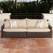 Deco Patio Sofa with Cushions