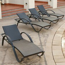 Deco Chaise Lounge (Set of 4)