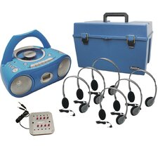 Complete Stereo CD/Cassette Listening Center with HA-2 Headphones