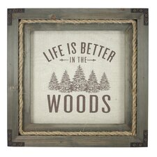 Millham Better in the Woods Picture Frame