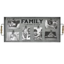 """Albine """"Family A Lifetime of Love"""" Clip Collage Picture Frame"""