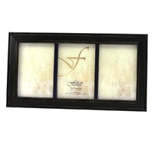 Fashion Woods Longwood 5'' x 7'' Triple Picture Frame
