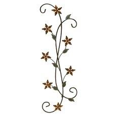 Katelyn Floral Scroll Wall Décor