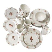 Birchwood 16 Piece Dinnerware Set
