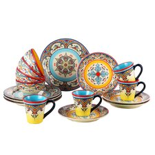 Zanzibar 16 Piece Dinnerware Set