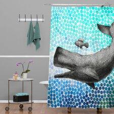 Garima Dhawan Dots New Friends Shower Curtain