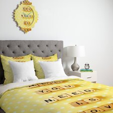 Happee Monkee All You Need Is Love 1 Duvet Cover Collection