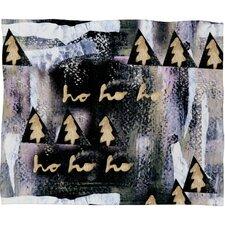 Cayenablanca A White Christmas Plush Fleece Throw Blanket