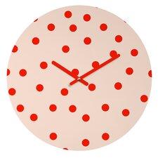 Garima Dhawan Vintage Dots Wall Clock
