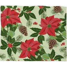Sabine Reinhart Christmas Ballad Plush Fleece Throw Blanket