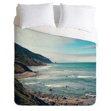 Catherine McDonald Lightweight California Pacific Coast Highway Duvet Cover