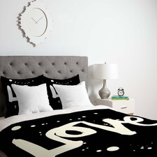 Kal Barteski Lightweight Love Duvet Cover