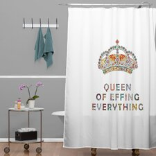 Bianca Green Her Daily Motivation Shower Curtain
