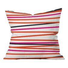 Khristian A Howell Crew Stripe Warm Indoor/Outdoor Throw Pillow