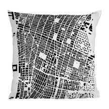 CityFabric Inc. NYC Polyester Throw Pillow