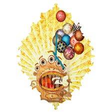 Jose Luis Guerrero Monster Wall Clock