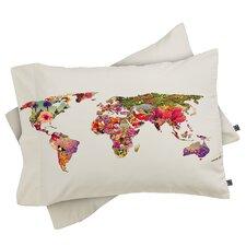 Bianca Green Its Your World Pillowcase
