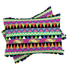 Bianca Green Zigzag Pillowcase