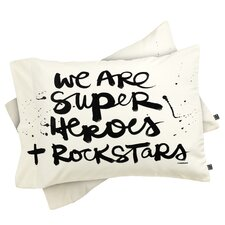Kal Barteski Superheroes Pillowcase