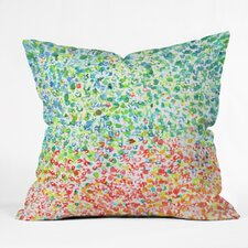 Cool To Warm by Laura Trevey Indoor/Outdoor Throw Pillow