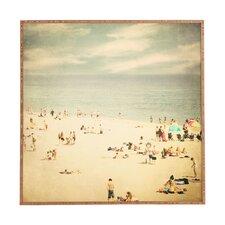 Vintage Beach by Shannon Clark Framed Wall Art