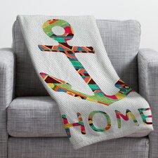 Bianca Green You Make Me Home Throw Blanket