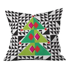 Zoe Wodarz Geo Pop Tree Throw Pillow
