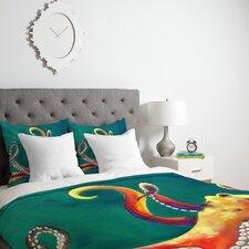 Clara Nilles Mardi Gras Octopus Duvet Cover Collection