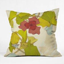 Sabine Reinhart Isle Of Flowers Polyester Throw Pillow