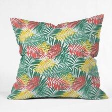 Zoe Wodarz Palm Beachy Polyester Throw Pillow