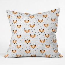 Zoe Wodarz Foxy Polyester Throw Pillow