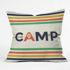 Zoe Wodarz Bonfire Blanket Polyester Throw Pillow