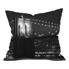 Leonidas Oxby Brooklyn Bridge 125 Throw Pillow