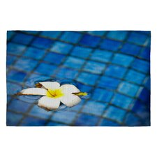 Bird Wanna Whistle Floating Flower Novelty Rug