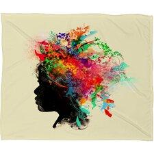 Budi Kwan Wildchild Throw Blanket