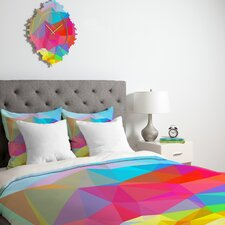 Three of the Possessed Crystal Crush Duvet Cover Collection
